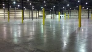 Warehouse marking project (before)