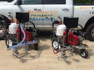 Advanced Pavement Marking airless machines