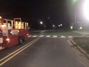Crosswalks by Advanced Pavement Marking