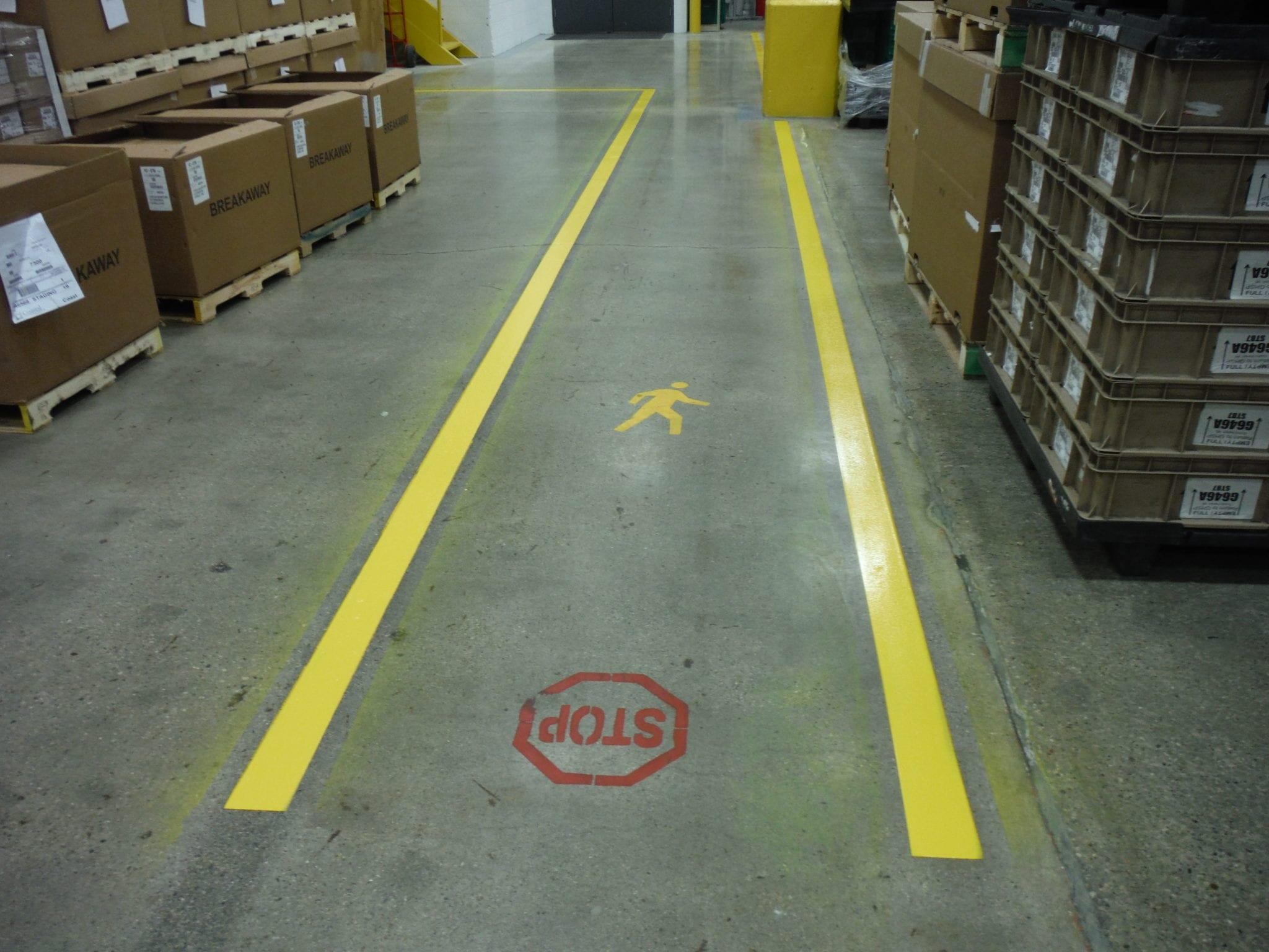 Safety Markings Advanced Pavement Marking 174