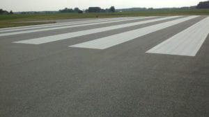 Airport painting by Advanced Pavement Marking