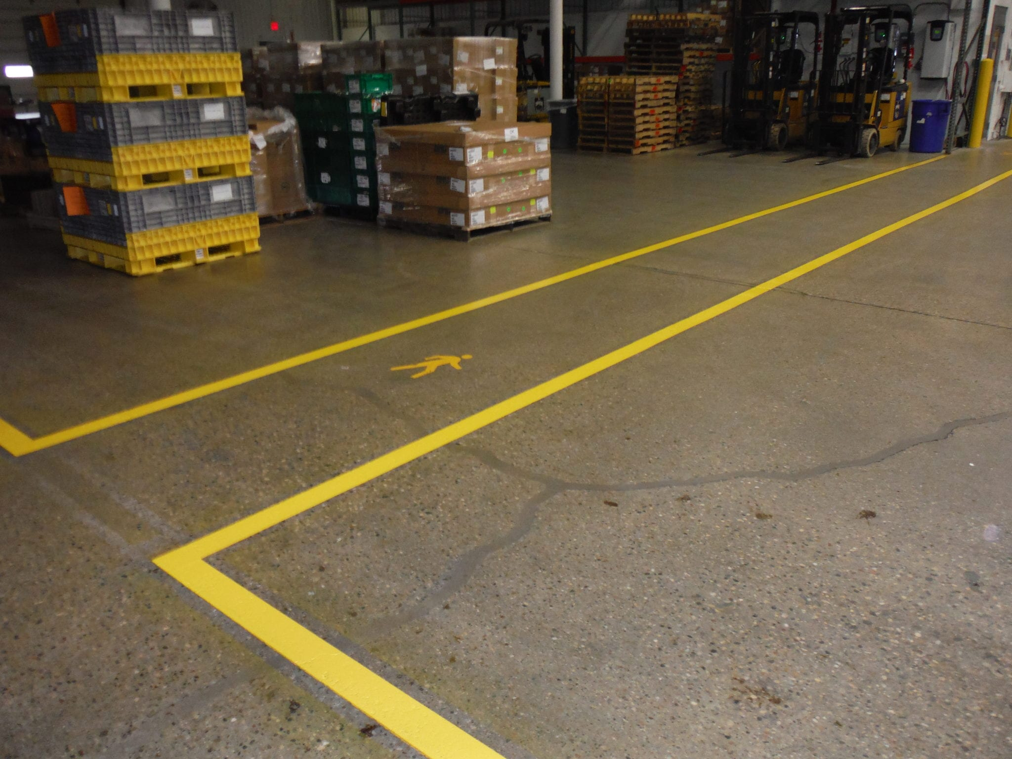 warehouse markings advanced pavement marking