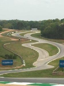 Road Atlanta race track by Advanced Pavement Marking