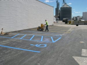 Our crews are the best in the pavement marking business!