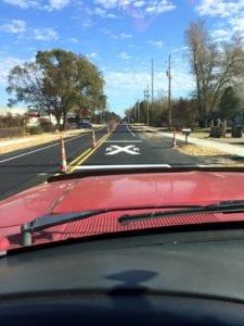 Advanced Pavement Marking traffic marking services