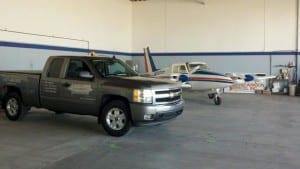Airport marking truck