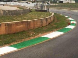 Race track painting at Road Atlanta