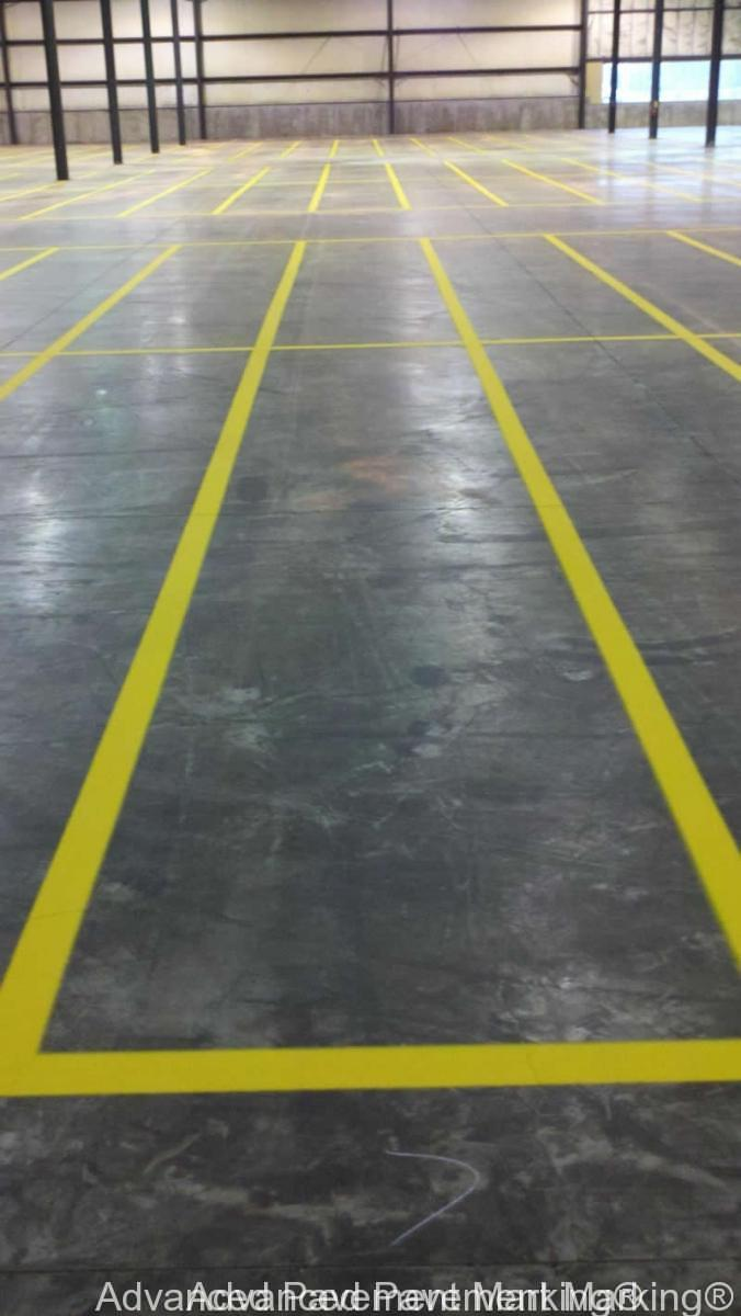 Advanced Pavement Marking 174 Warehouse Marking Professionals