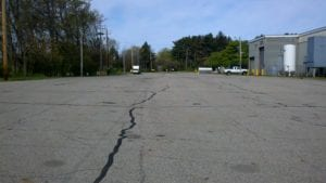 Parking lot painting (before)