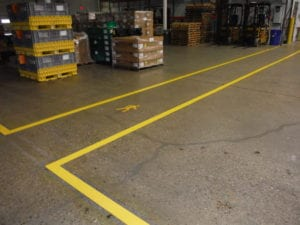 Safety markings by APM