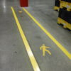 Safety zone markings