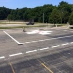 Helipad painting services