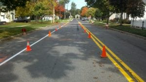 Michigan road marking contractor