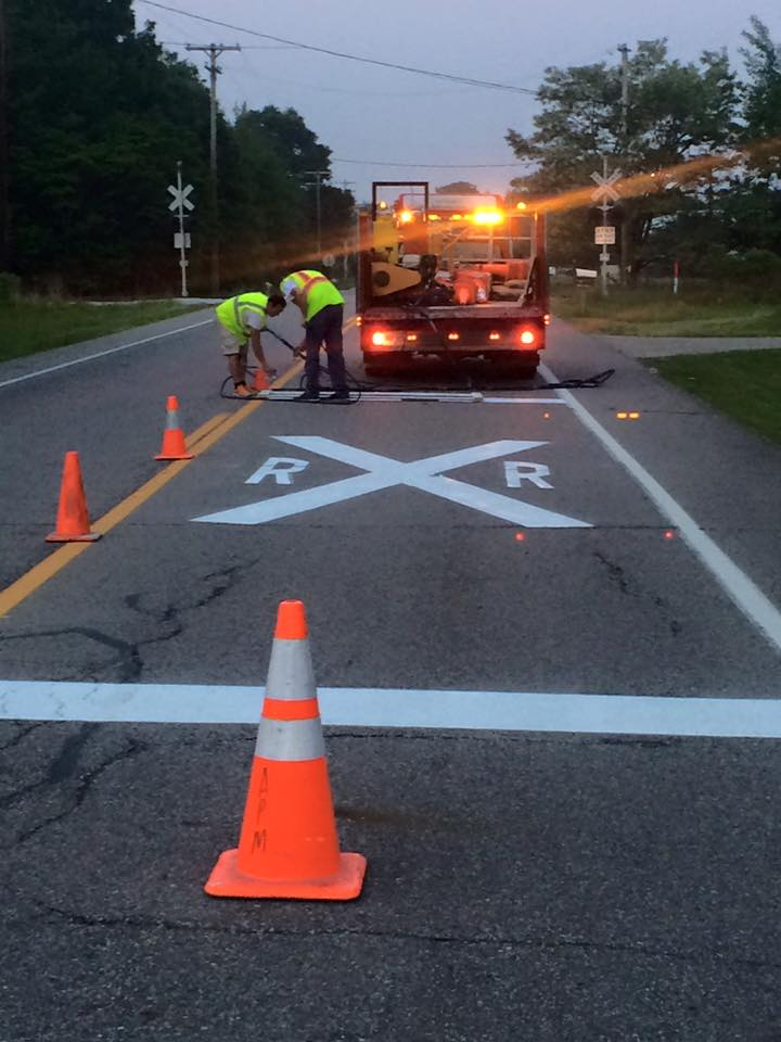 Ohio pavement Marking