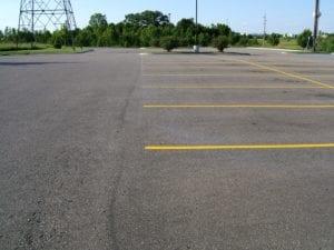 parking lot stalls