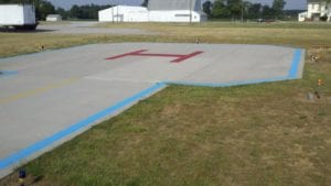 Landing zone painting