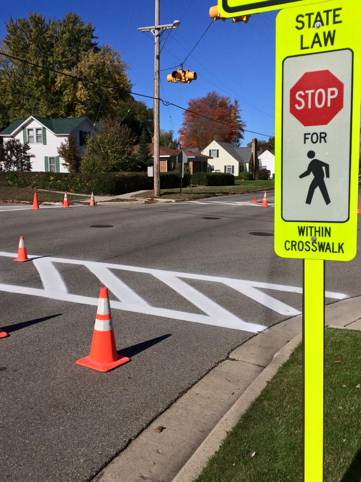 City Crosswalk Painting Services