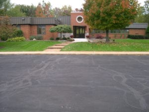 The best parking lot striping contractor Advanced Pavement Marking