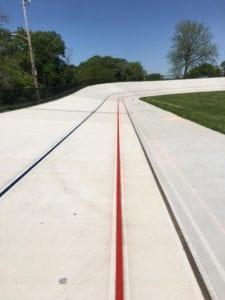 Velodrome lines