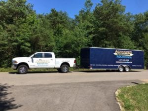 Pavement marking contractor