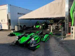 Motul Petit Le Mans racer
