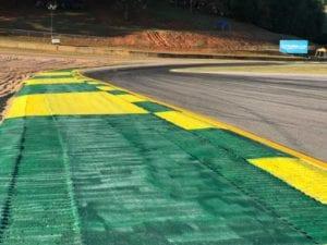 Road Atlanta racetrack painting