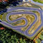 Karting racetrack