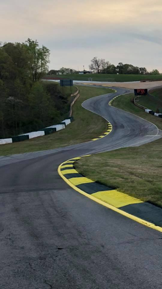 Advanced Pavement Marking race course painting contractor