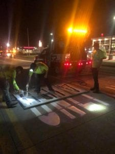 traffic marking services