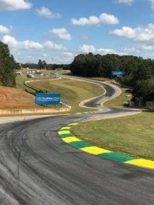 Racetrack markings