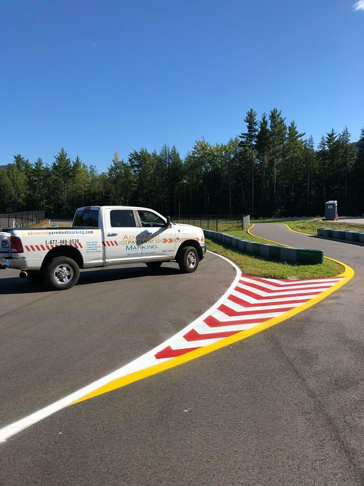 Racetrack marking services