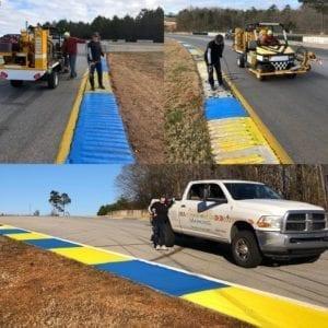 Racetrack painters