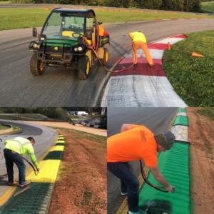 Track marking contractors