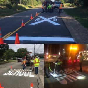 Traffic Symbol & Message Marking