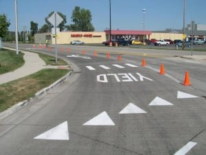 Road marker