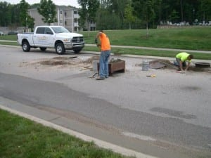 Asphalt repair services