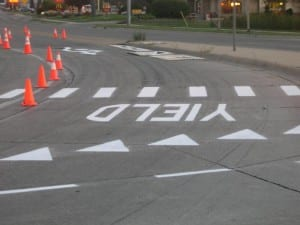 Traffic markings