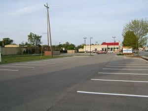 Parking stalls